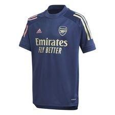 Arsenal Tränings T-Shirt - Navy/Gul Barn