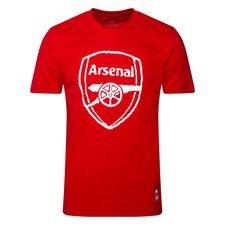 Arsenal T-Shirt DNA - Röd/Vit