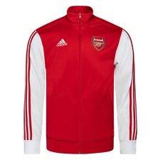 Arsenal Track Top 3-Stripes - Röd/Vit