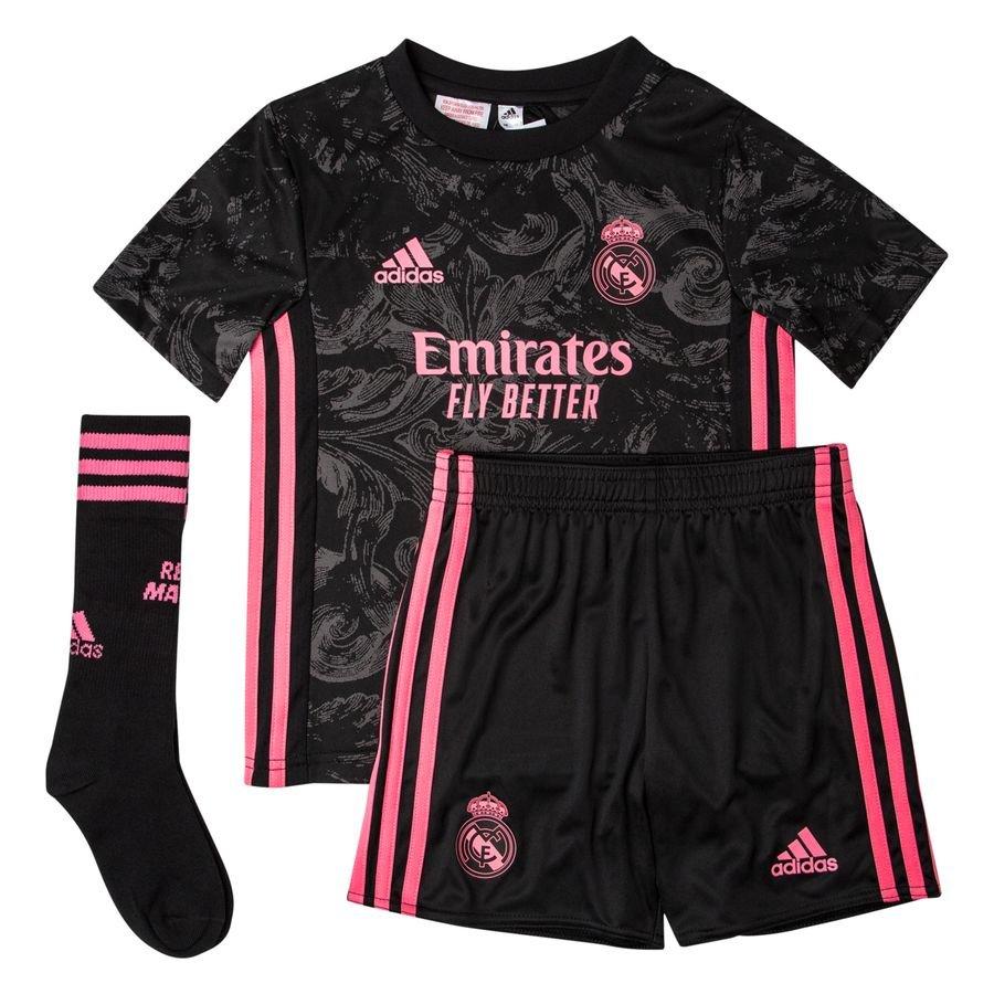 adidas Real Madrid 3. Trøje 2020/21 Mini-Kit Børn