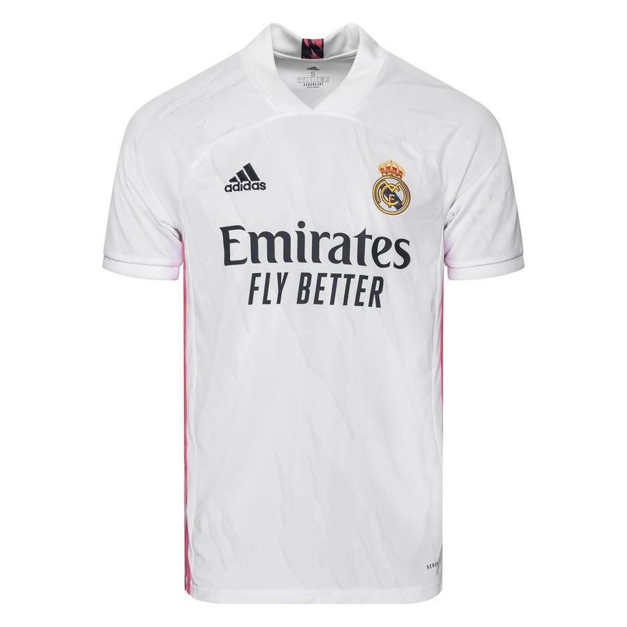 adidas Real Madrid Hjemmebanetrøje 2020/21 Børn