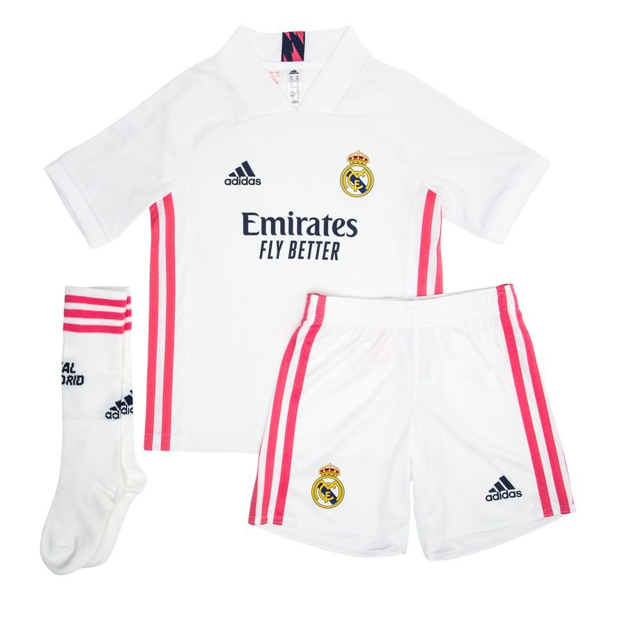 Real Madrid Hjemmebanetrøje 2020/21 Mini-Kit Børn