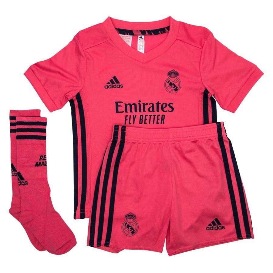 adidas Real Madrid Udebanetrøje 2020/21 Mini-Kit Børn