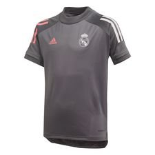 Real Madrid Tränings T-Shirt - Grå/Vit Barn
