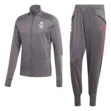 Real Madrid Trainingsanzug - Grau/Pink Kinder