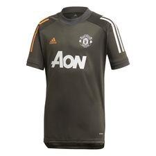 Manchester United Tränings T-Shirt - Grön/Vit Barn
