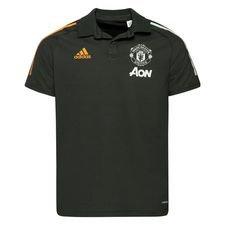 Manchester United Piké - Grön/Vit