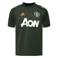 Manchester United Trenings T Skjorte Presentation RødSort