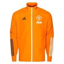Manchester United Träningsjacka Presentation - Orange/Svart