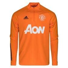 Manchester United Träningströja - Orange/Svart