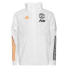 Manchester United Jacka All Weather - Vit