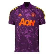 Manchester United Tränings T-Shirt Ultimate EU - Lila