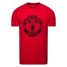 Manchester United T-Shirt DNA Graphic - Röd/Svart