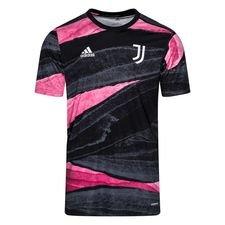 Juventus Tränings T-Shirt Presentation - Svart/Rosa