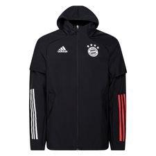 Bayern München Jacka All Weather - Svart/Röd
