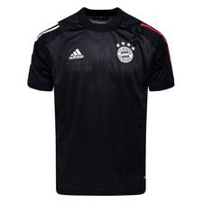 Bayern München Tränings T-Shirt - Svart/Röd Barn