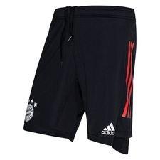 Bayern München Shorts - Svart/Röd Barn