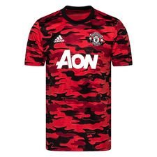 Manchester United Tränings T-Shirt Presentation - Röd/Svart