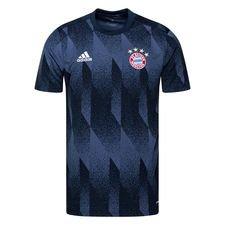 Bayern München Tränings T-Shirt Presentation - Navy/Navy