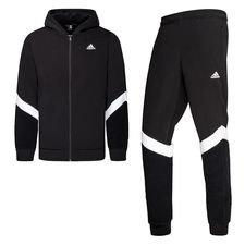 adidas Trainingspak Winterized - Zwart/Wit