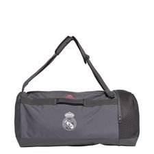 Real Madrid Sportväska Duffel Medium - Grå/Vit/Rosa