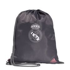 Real Madrid Gymnastikpåse - Grå/Vit/Rosa