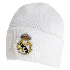 Real Madrid Stickad - Vit/Navy