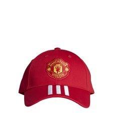 Manchester United Keps Baseball - Röd/Vit