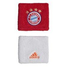 Bayern München Svettband 2-Pack - Röd/Vit/Grå