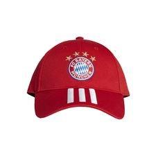 Bayern München Keps Baseball - Röd/Vit
