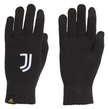 Juventus Strickhandschuhe - Schwarz/Weiß/Pyrite