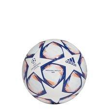 adidas Fußball Champions League 2020 Mini - Weiß/Blau/Signal Coral