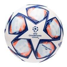 adidas Fotboll Champions League 2020 Finale Mini - Vit/Blå/Orange
