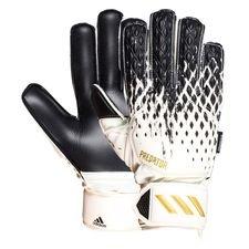 adidas Torwarthandschuhe Predator Match Fingersave Inflight - Weiß/Schwarz/Gold Kinder