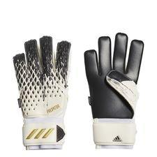 adidas Torwarthandschuhe Predator Match Fingersave Inflight - Weiß/Schwarz/Gold