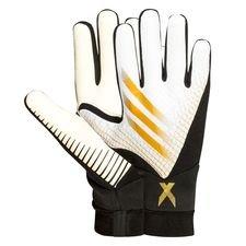 adidas Torwarthandschuhe X Ghosted League Inflight - Weiß/Gold/Schwarz