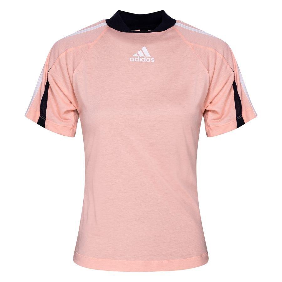 adidas T-Shirt Aeroready Logo - Haze Coral Woman