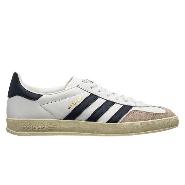 adidas Originals Chaussures Gazelle Indoor - Blanc/Bleu Marine ...