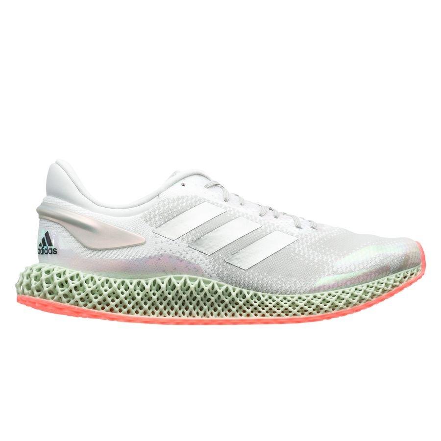 adidas 4D Run 1.0 - Hvid/Sølv/Pink thumbnail