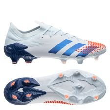 adidas Predator 20.1 Low FG/AG - Blå/Blå/Orange