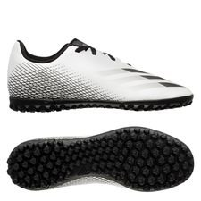 adidas X Ghosted .4 TF Inflight - Hvid/Sort/Sølv Børn