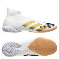 adidas Predator 20+ IN - Hvid/Guld/Sort