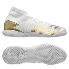adidas Predator 20.3 IN - Hvid/Guld/Sort
