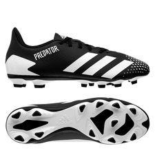 adidas Predator 20.4 FG/AG - Sort/Hvid