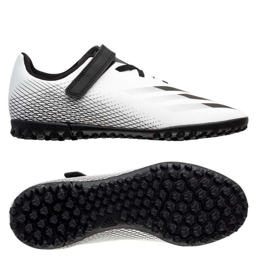 adidas X Ghosted .4 H&L TF Inflight - Hvid/Sort/Sølv