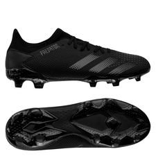 adidas Predator 20.3 Low FG/AG Dark Script - Sort