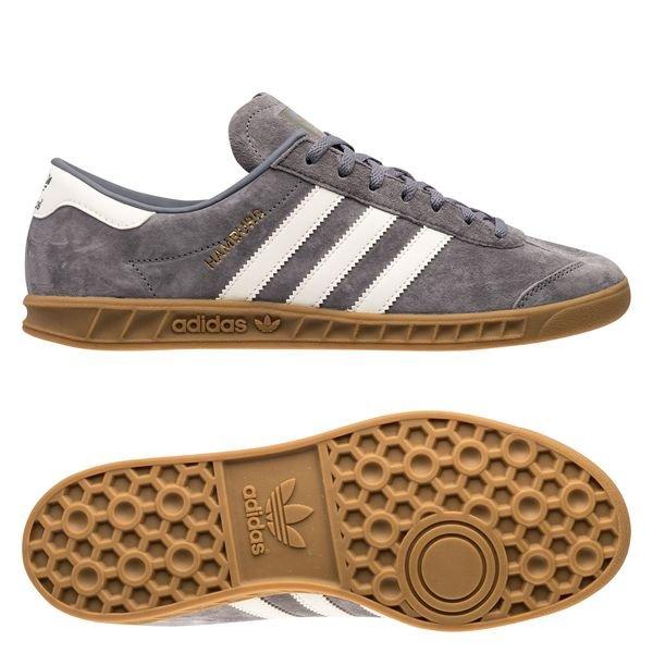 adidas Originals Chaussures Hamburg IN - Gris/Blanc