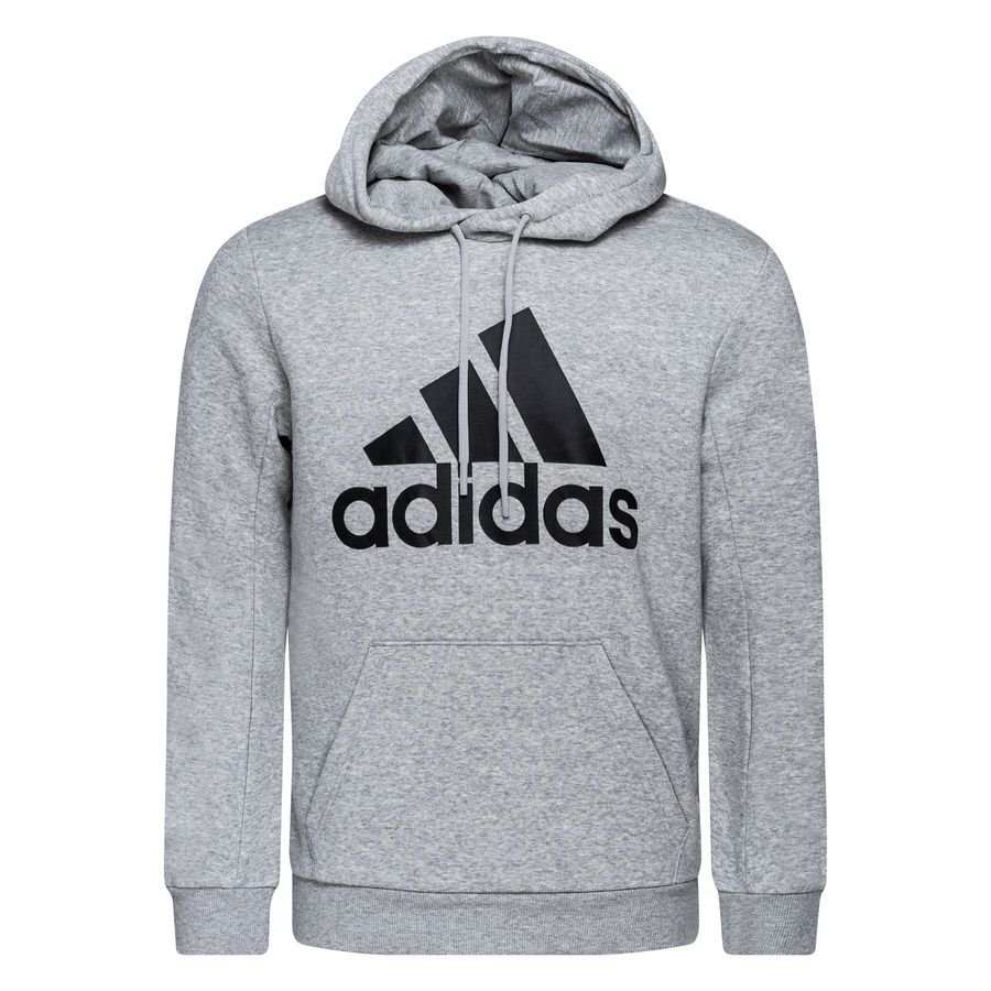 adidas Hættetrøje Must Haves Fleece - Grå/Sort thumbnail