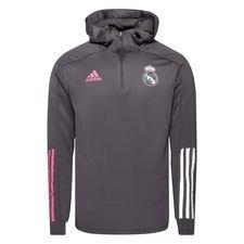 Real Madrid Track Luvtröja - Grå/Rosa
