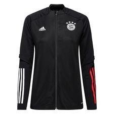 Bayern München Träningsjacka - Svart/Röd Dam